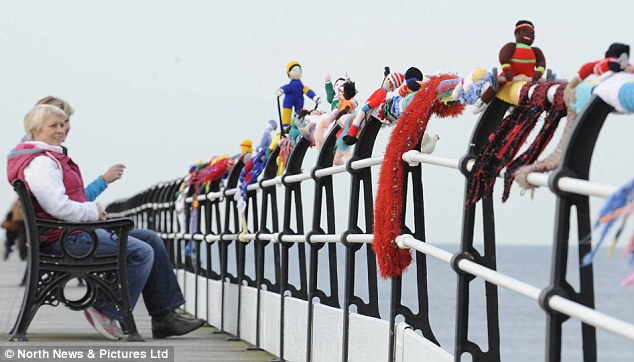 yarn bombing en las olimpíadas