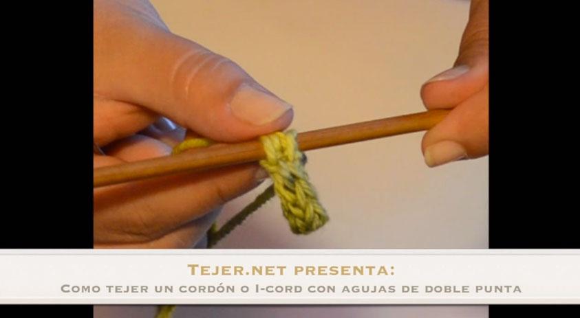 tejer un cordón